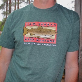 Reel Montana Mens T-Shirt